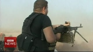 On The Frontline With Shia's Badr Army In Iraq