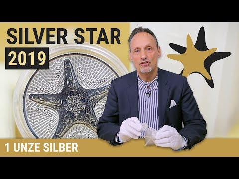 1 UNZE SILBER - SILVER STAR 2019