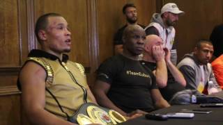 Chris Eubank Jnr. Press Conference after winning World Title