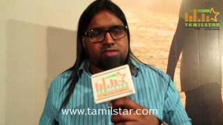 Keba Jeremiah at Karate Kaaran First Look Launch and Press Meet