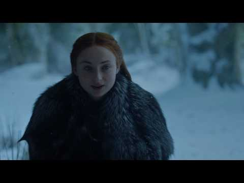 Sansa Receives Unexpected Visitor At Winterfell Scene Game Of Thrones S07E03 The Queens Justice