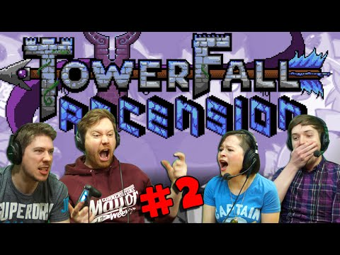 TOWERFALL ASCENSION with Hat Films & Kim! (#2) Bramble Bum!