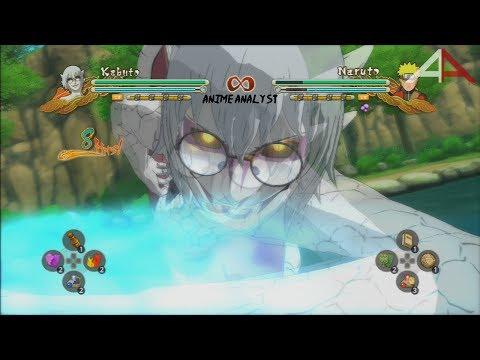 SAGE MODE Kabuto MOVESET: Naruto Shippuden Ultimate Ninja Storm 3 Full Burst HD