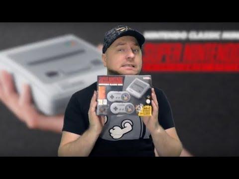 SNES Classic Mini: распаковка и несколько игр