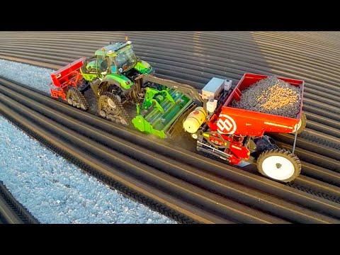 Посадка и окучивание картошки в Нидерландах