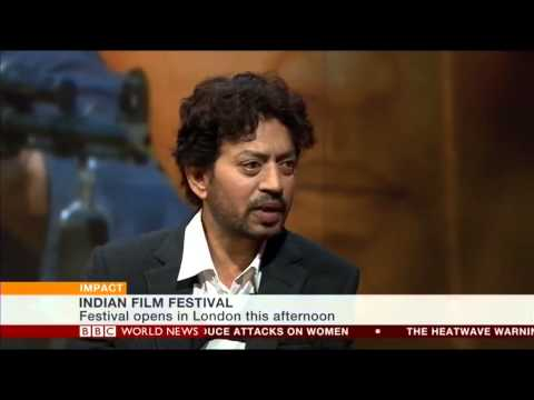 Irrfan Khan - He's one of Bollywood's biggest stars and he has also made it in Hollywood. Lucy Hockings met Irrfan Khan on the Impact programme to talk about his new film,...