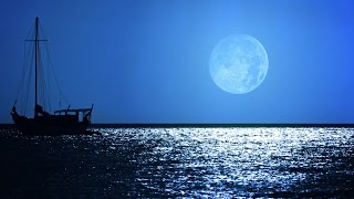 Sleep music, soothing dream sound with 4k relaxing ocean night and full moon peaceful scene, 4 hours calming dark blue screen with relaxing music to deep sleep, relaxation...Playlist SLEEP MUSIC: https://www.youtube.com/playlist?list=PLYwFNfjiOd7P5aaEnbHnM05i6wmdo0wcP