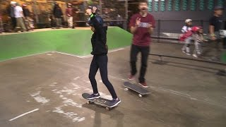Video GIRL SKATEBOARDER DROPS IN FOR HER FIRST TIME! MP3, 3GP, MP4, WEBM, AVI, FLV Agustus 2017