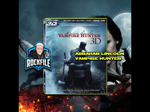 ABRAHAM LINCOLN VAMPIRE HUNTER (2012) Review ROCKFILE Podcast 214