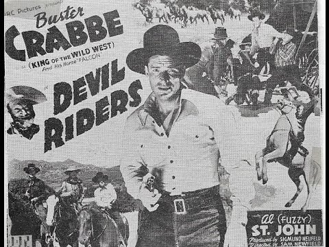 [Western] Devil Riders (1943) Buster Crabbe, Al St. John, Patti McCarty