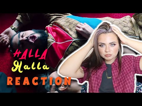 ElGrandeToto - Halla Halla REACTION| Moroccan Rap|