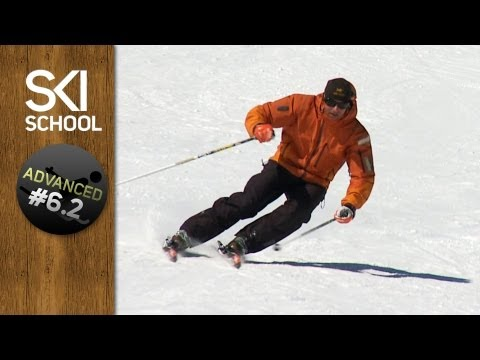 skiing - Carving is the holy grail for many skiers, in this ski lesson, ski instructor Darren Turner ( http://www.SkiSchoolApp.com ) explains how a ski works, what te...