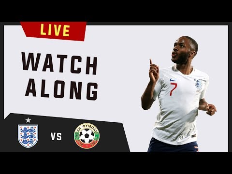 Live Football - England vs Bulgaria - Euro 2020 Qualifier | Watchalong