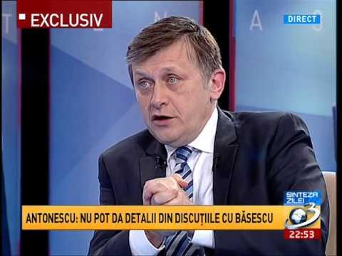 Crin Antonescu, despre motivul pentru care s a sucit si l a vizitat pe Traian Basescu