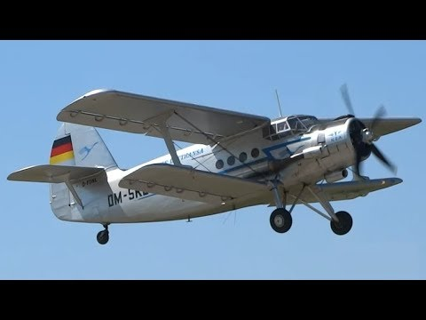 Here is the Antonov An-2. It was...