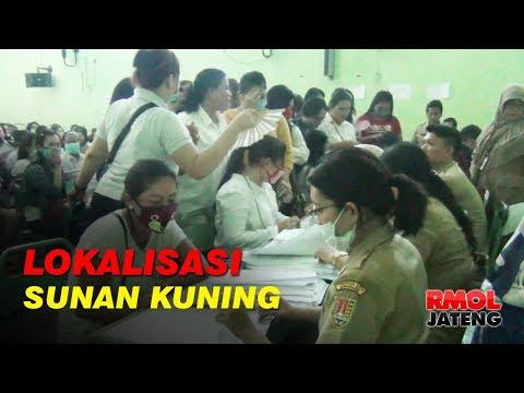 PSK Lokalisasi Sunan Kuning Terima Dana Tali Asih