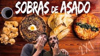 4 Recetas con Sobras de Asado | Cook & Laucha 2×1