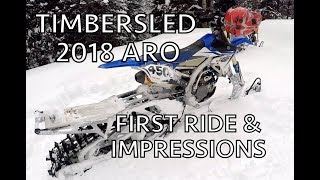 5. UPDATED 2018 Timbersled ARO First Impressions - read description