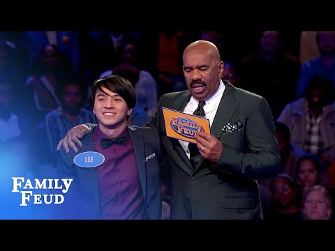 Tina gets three ZEROS. Then THIS happens... | Family Feud