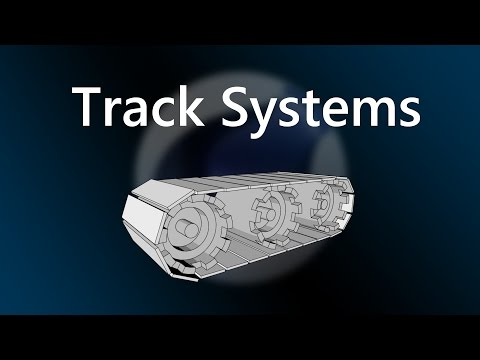 Rotation with a track system