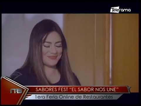 Sabores Fest El Sabor nos une 1era feria Online de Restaurantes
