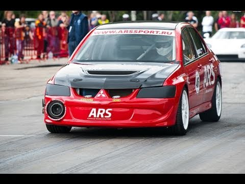incredibile mitsubishi lancer evolution ars 1100 cv!