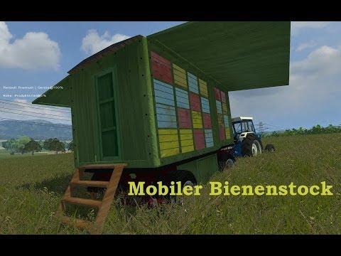 Mobiler Bienenstock auf Drehschemel v2.0