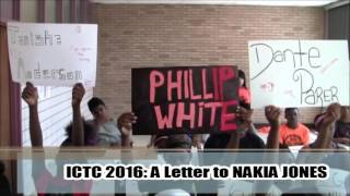 A Letter to Nakia Jones