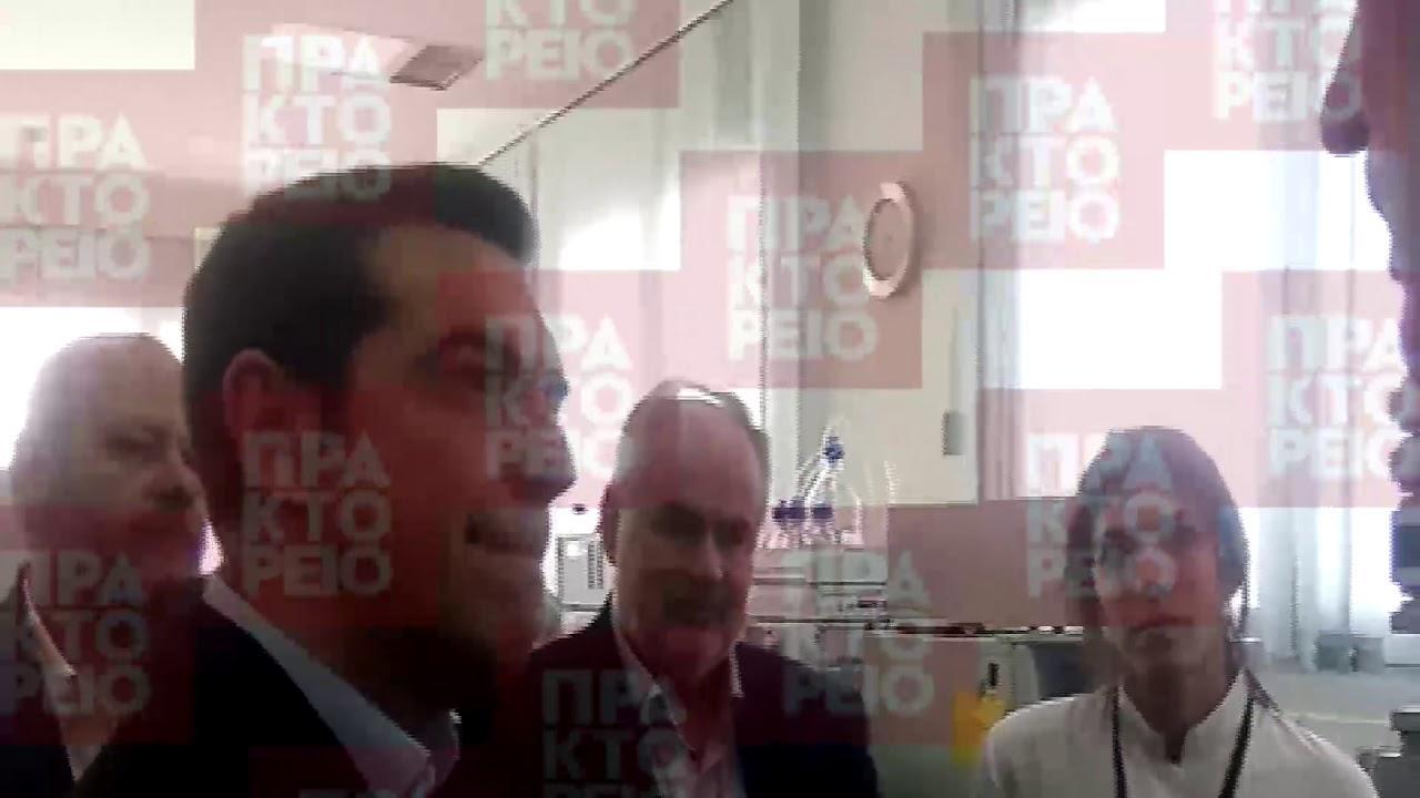 Την εταιρεία CBL επισκέφτηκε ο πρωθυπουργός Αλέξης Τσίπρας