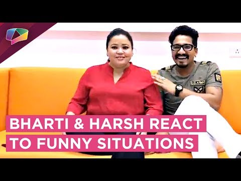 Bharti Singh And Harsh Limbhachiya React To Funny