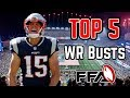 Top 5 Potential WR Busts   Fantasy Football 2018