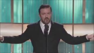 Video Ricky Gervais at the Golden Globes (2010-12) MP3, 3GP, MP4, WEBM, AVI, FLV Agustus 2019