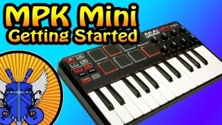 How To Setup The MPK Mini - YouTube