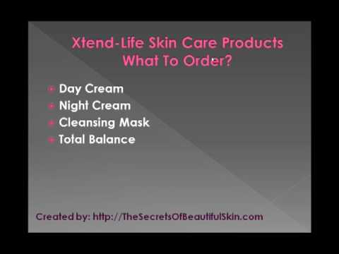 Xtend Life Skin Care – What To Order?