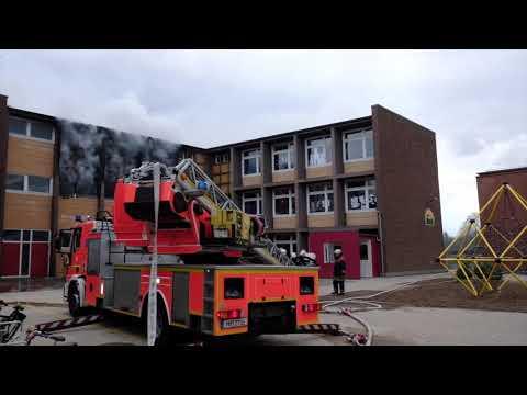 Feuer in der Grundschule Eckerkoppel