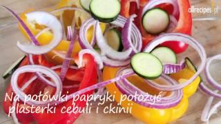 Pieczone warzywa z komosą ryżową