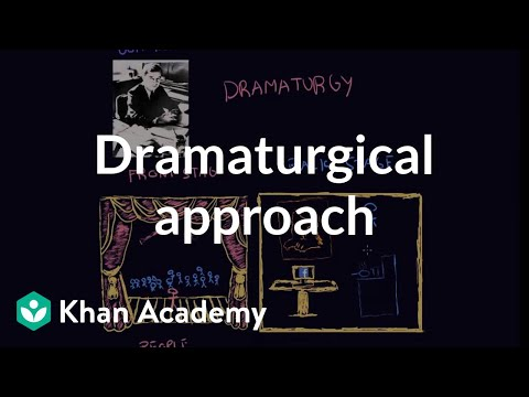 Dramaturgy (sociology)