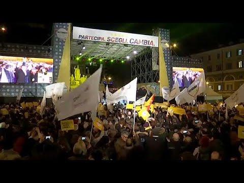Abschlusskundgebungen der Parteien vor Wahl am Sonnta ...