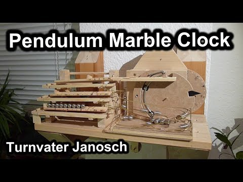 homemade - A homemade mechanical rolling ball clock (english, deutsche Version: http://youtu.be/wJK0AjOHbzk) The clock runs for 12 hours, driven by a weight of 2.5 kg s...
