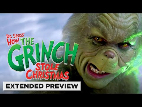 How the Grinch Stole Christmas (20th Anniversary) | Jim Carrey Has a Heart Two Sizes Too Small