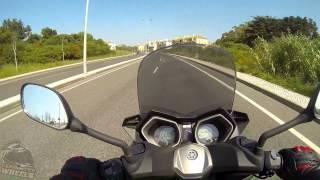 4. Yamaha X-Max 125 Testdrive & Review!