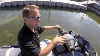 7. Yamaha Motor's New RiDE Control System on the 2015 VX Cruiser Waverunner