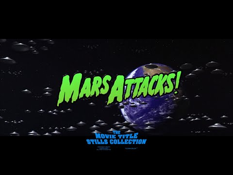 Mars Attacks! (1996) title sequence