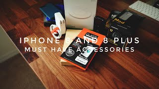 Top 5 Must Have Accessories For The iPhone 8 and 8 Plus!