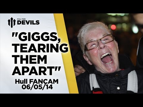 'Giggs – tearing them apart' | Manchester United 3-1 Hull | FANCAM