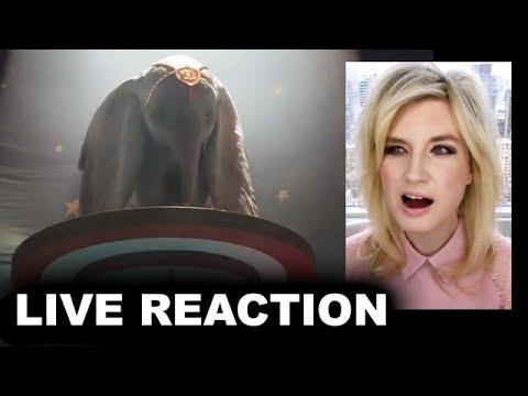 Dumbo Trailer REACTION