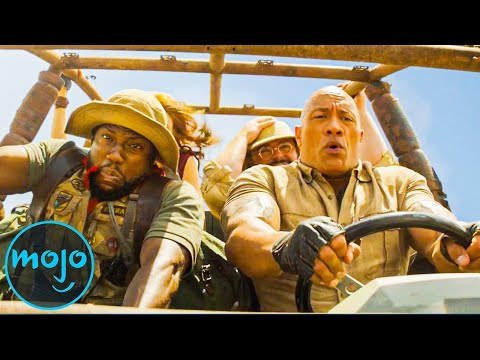 Top 10 Funniest Moments In Jumanji: The Next Level