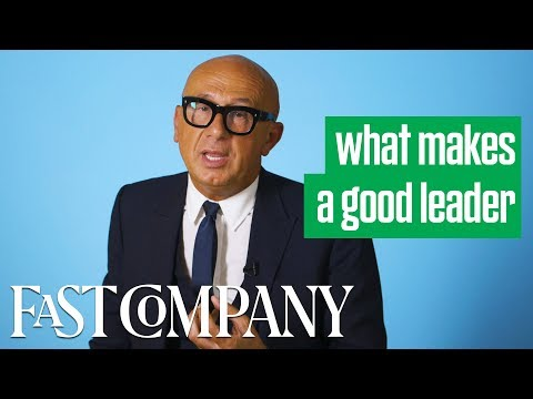 Gucci CEO Marco Bizzari on What Makes a Good Leader | Fast Company