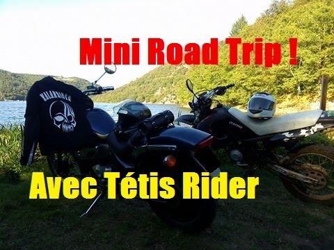 Mini Road Trip en 50cc avec Tétis Rider | Aprilia Classic 50cc
