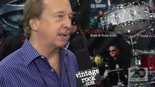http://www.vintagerock.com - VintageRock.com's Junkman talks with William F. Ludwig III (WFLIII Drums) at the 2017 NAMM Show on Sunday, January 22, 2017 in Anaheim, CA. Captured and edited by Mike Thoman.